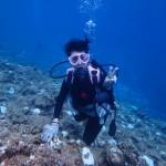 ヘルパーさんの体験ダイビング@真栄田岬