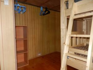 館内設備 個室A 2段目左