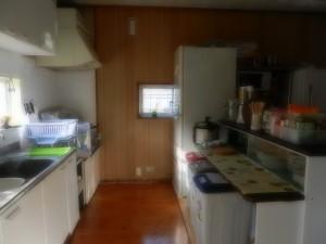 キッチン 左上