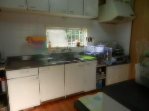 キッチン 右上