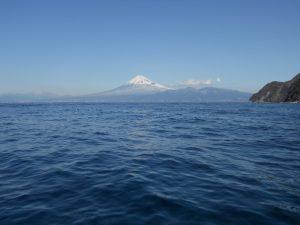 富士山を見ながらダイビングが醍醐味の西伊豆。