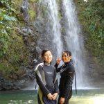 海遊びだけじゃない!!沢登りや滝を楽む沖縄本島ター滝。