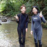 まだまだイケる沢登り~ター滝。