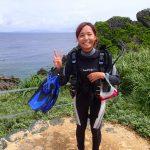 沖縄で一番したいこと・・・ダイビング。