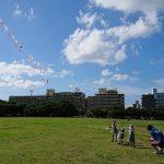 正文祭~沖縄の都心で126連凧を揚げる。
