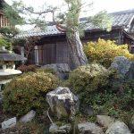 雰囲気のある中庭がとても素敵な彦根ゲストハウス無我