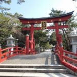 神社仏閣御朱印巡り 日本三大木造鳥居・敦賀の氣比神宮。