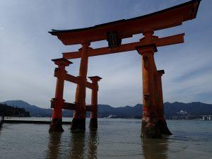 世界遺産 厳島神社は大鳥居、木造大鳥居、弁財天の日本三大尽くし