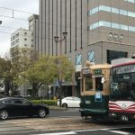 広島観光、被爆電車から最新鋭まで路面電車の観察も面白いかも。