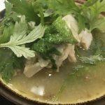 アバサー汁は白身と味噌の美味さが調和した沖縄料理。