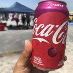 米軍基地フリーマケットでアメリカ仕様の飲み物を楽しめるよ。