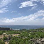 沖縄県一高い残波岬灯台は登れる灯台。
