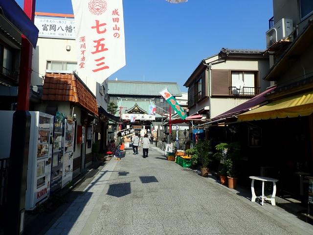 門前仲町の神社仏閣は駅近でのんびり参拝できる
