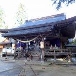 出石神社は土木建設業にご利益【城崎温泉滞在記】