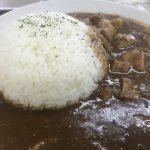 読谷村【伊江牛にくや】豚肉入りすぎているカレーが美味